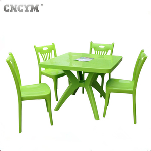 high quality customer made injection garden chair and table set mould waiting chair mold