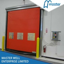 Inner fast moving rolling up shutter door