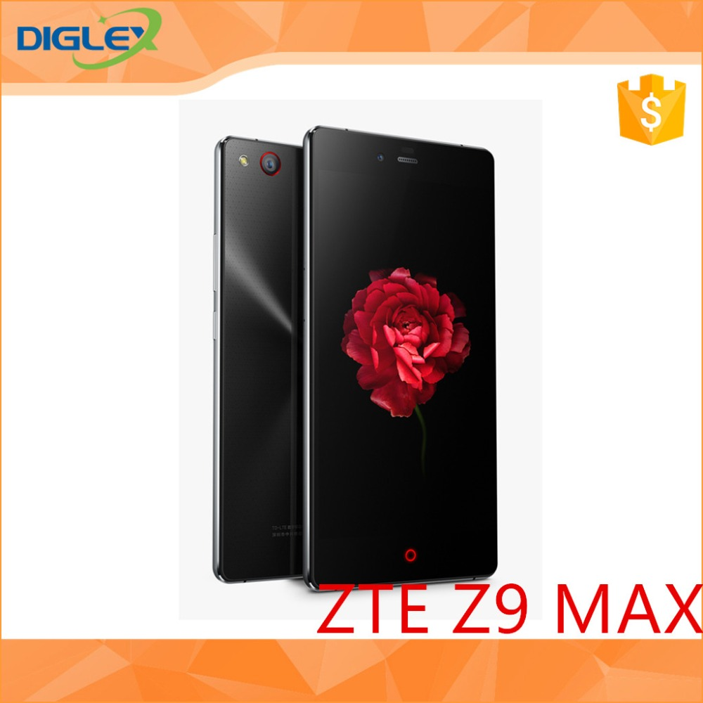 "Original ZTE Nubia Z9 Max 4G Cell Phone Android 5.0 Snapdragon 615 Octa Core 5.5""1920x1080 2GB RAM 16GB ROM 16.0MP Camera"