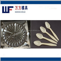 taizhou factory production durable cheese spoon mold/oem high quality plastic cheese spoon mould
