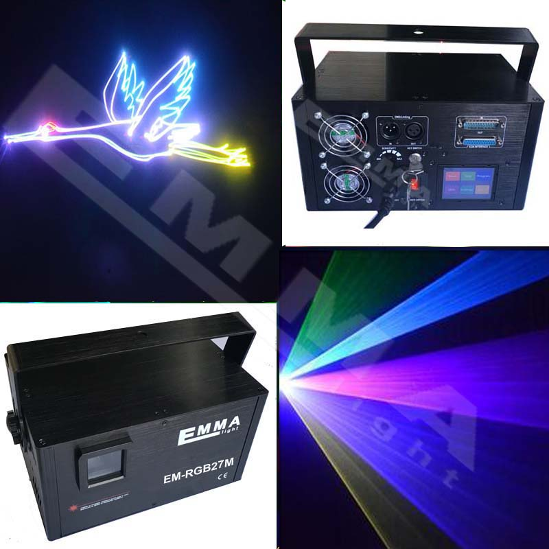 RGB 1400 Patterns Mixing Laser Projector Stage Lighting Effect LED Stage Lights Show Disco DJ Party Lighting