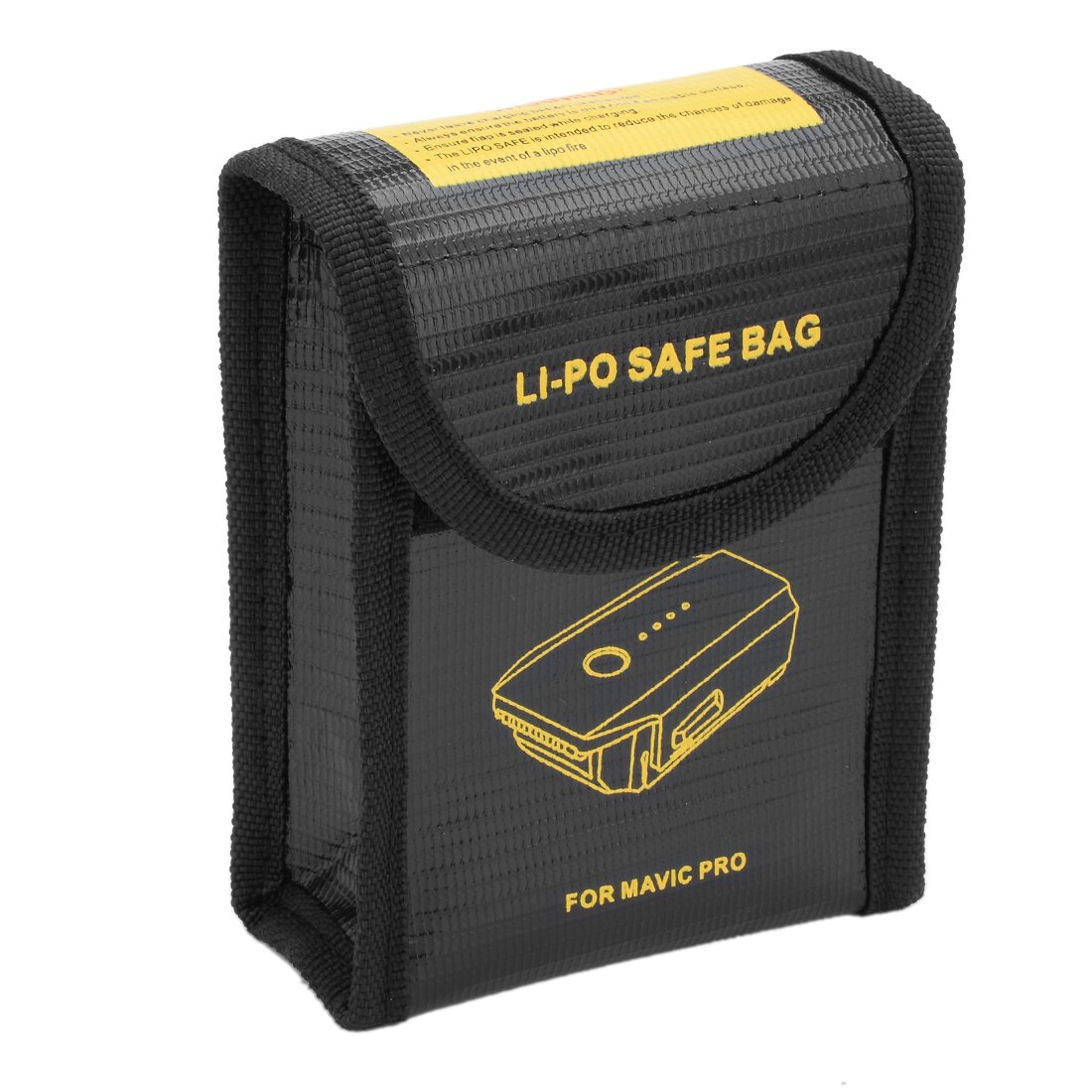 uxcell Fireproof RC Lipo Battery Storage Charging Safe Bag Pouch Sack Lipo Battery Guard Black 95mmx46mmx115mm Small