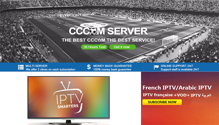 France And Arabic Iptv Channels Iptv M3u Subscription Full Zone  7500+live/5000+vod Reseller Panel Free Test Code Dragon Iptv - Buy Full  France And
