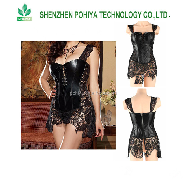 China Plus Size Leather Corset Dresses Wholesale Alibaba