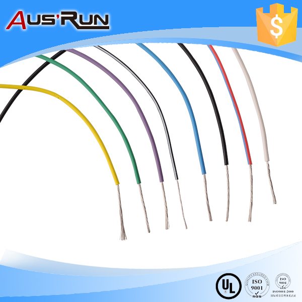 Leader wire, awg22-ul3122, silicon rubber insulated wire