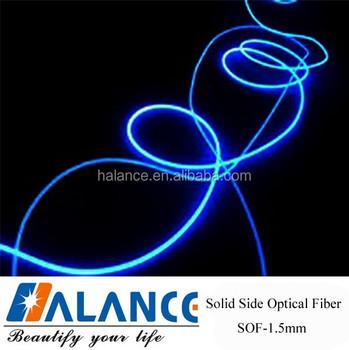 Pmma Side Glow 1.5mm Lighting Optical Fiber