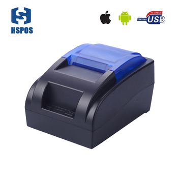 Hot Sale Desktop 58mm Pos Thermal Receipt Printer Usb Bluetooth Port  Support Android Sdk And Ios Hs-58huai - Buy Bluetooth Thermal  Printer,Cheapest