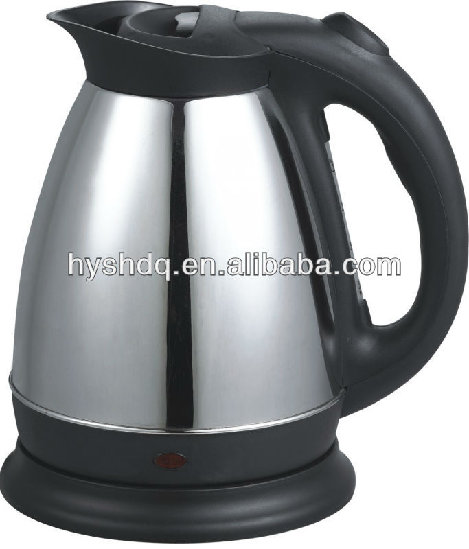 HY-05 1.5L stainless steel body and plactis cover electric kettle
