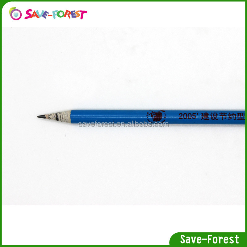 Save-forest fluorescent pencil,paper pencil