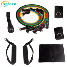 2018 Home Gym Apparatuur Set Sporting Buis Gym Oefening Set Yoga Fitness <span class=keywords><strong>11</strong></span> stks <span class=keywords><strong>Weerstand</strong></span> Band