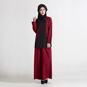 Most Welcomed 2 Sets Suit Turkish Islamic Clothing For Women Modern