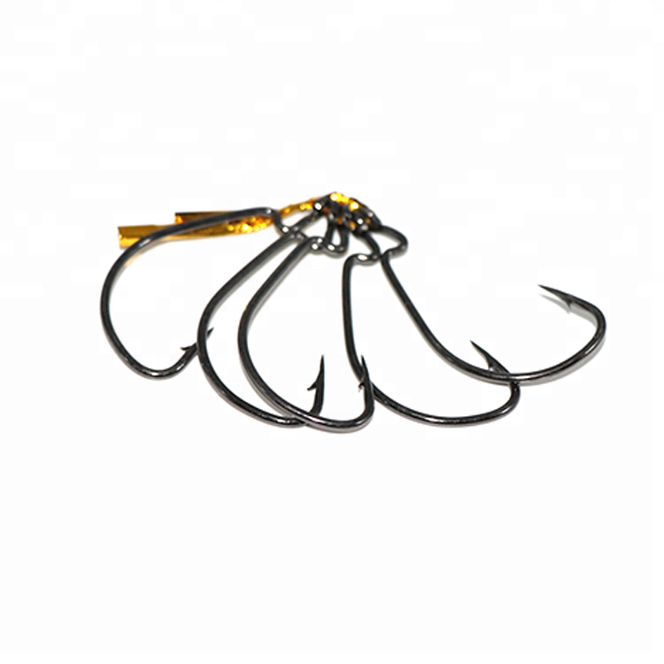 500pcs Fishing Hook Set 3-12# Carp Anzuelos Mustad Black Japan High Carbon Steel