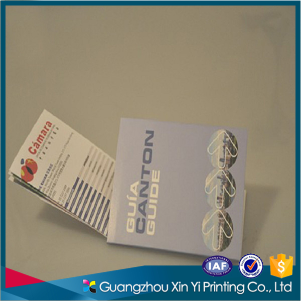 Fancy customized Canton Guide business card printing supplier