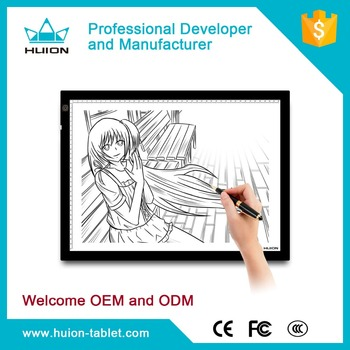 Hot Sale Acrylic Ultra Thin Led Lighted Drawing Board Led
