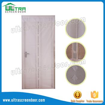 Mosquito Repellent Magnetic Screen Door For Exterior Sliding Glass