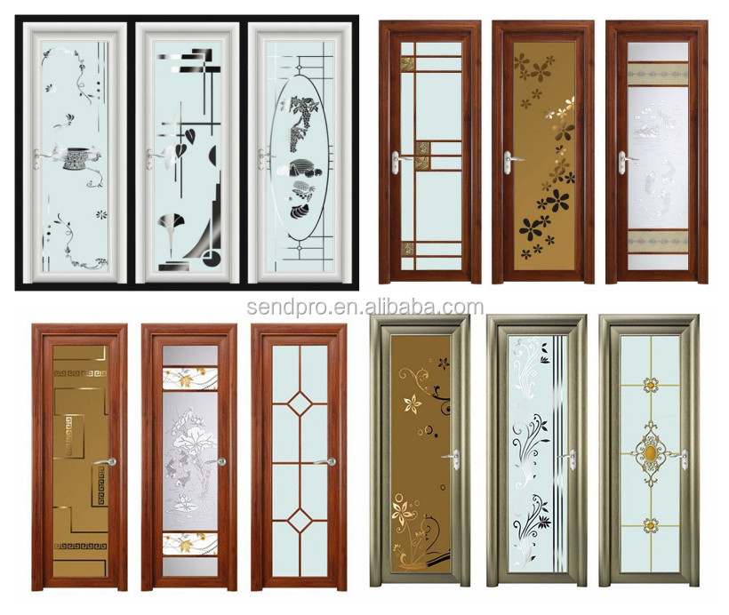 Standard Size Glass Aluminum Bathroom Door Buy Standard Size Bathroom Door Bathroom Door Room