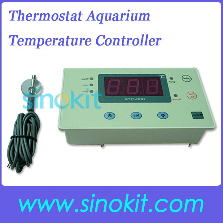 thermostat num rique r gulateur de temp rature aquarium atc 800 contr leur de temp rature de. Black Bedroom Furniture Sets. Home Design Ideas
