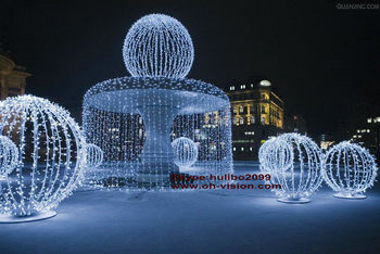Led 3d Sculpture Light/outdoor Led Ice Sculpture Lights/led Rope ...