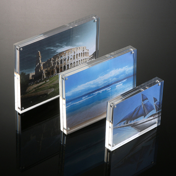 Waterproof Clear Acrylic Magnetic Photo Frame 5 Quot 6 Quot 7 Quot 8