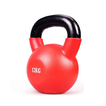 Pro gym equipment fixed New Rubber coated round rubber  Commercial Captain America PU Dumbbell Multicolor
