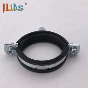 Galvanized iron sheet pipe clamp heavy hose clamps steel tube clip pipe clamp