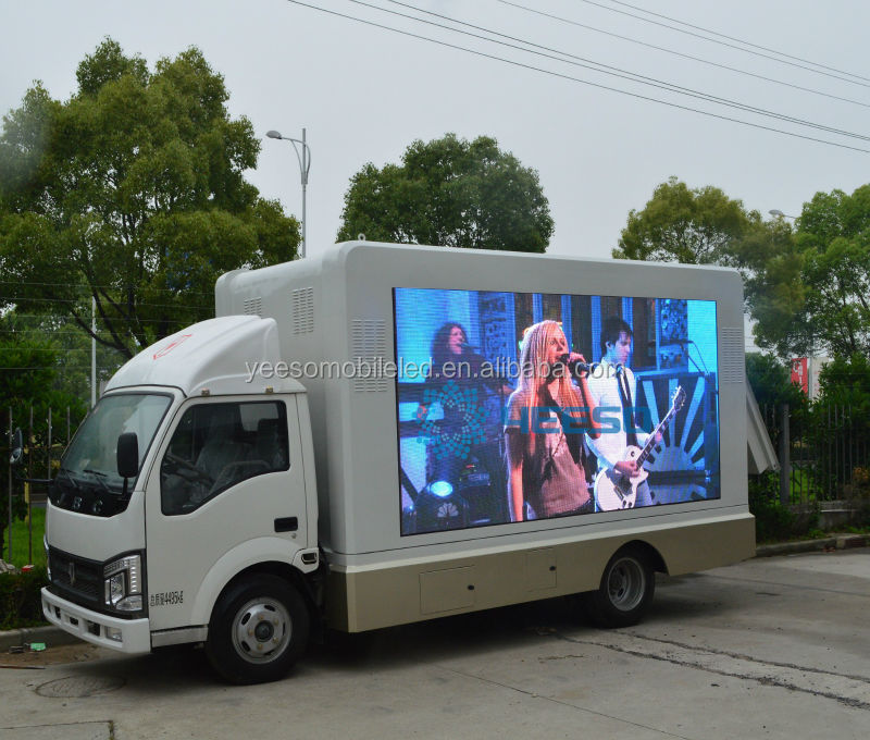 Custom Built Out-of-home Advertising Mobile Led Display Truck,Mobile Led  Billboard Vehicle For Sale - Buy Led Display Truck,Mobile Led Display,Led
