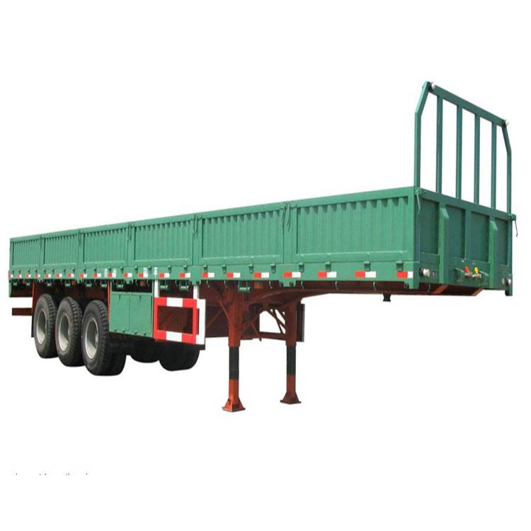 3 Axles 60ton Side Wall Bulk Cargo Semi Trailer For Sale In South