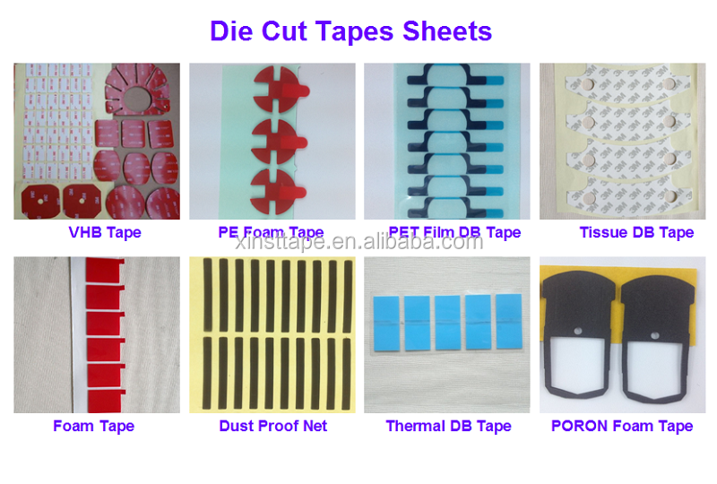 Die Cut Double Sided Adhesive Tape PE Foam Strips Dots