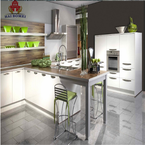Bomei Custom Buffets Kitchen Furniture All in One Kitchen Unit with DTC Kitchen Cabinet Accessories