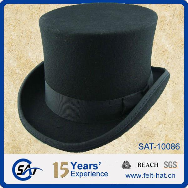 Estilo victoriano sombrero de copa