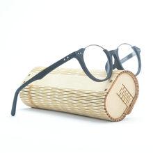 2019 деревянная оправа для очков с прозрачными линзами мужские круглые очки для близорукости по рецепту мужские деревянные оптические оправ...(Китай)