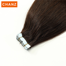 Factory made stick tape hair extensions slavic skin weft extension