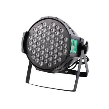 Professional Led Par Light 54pcs 3w Rgb 3in1 Hot Can Sound Dmx Control