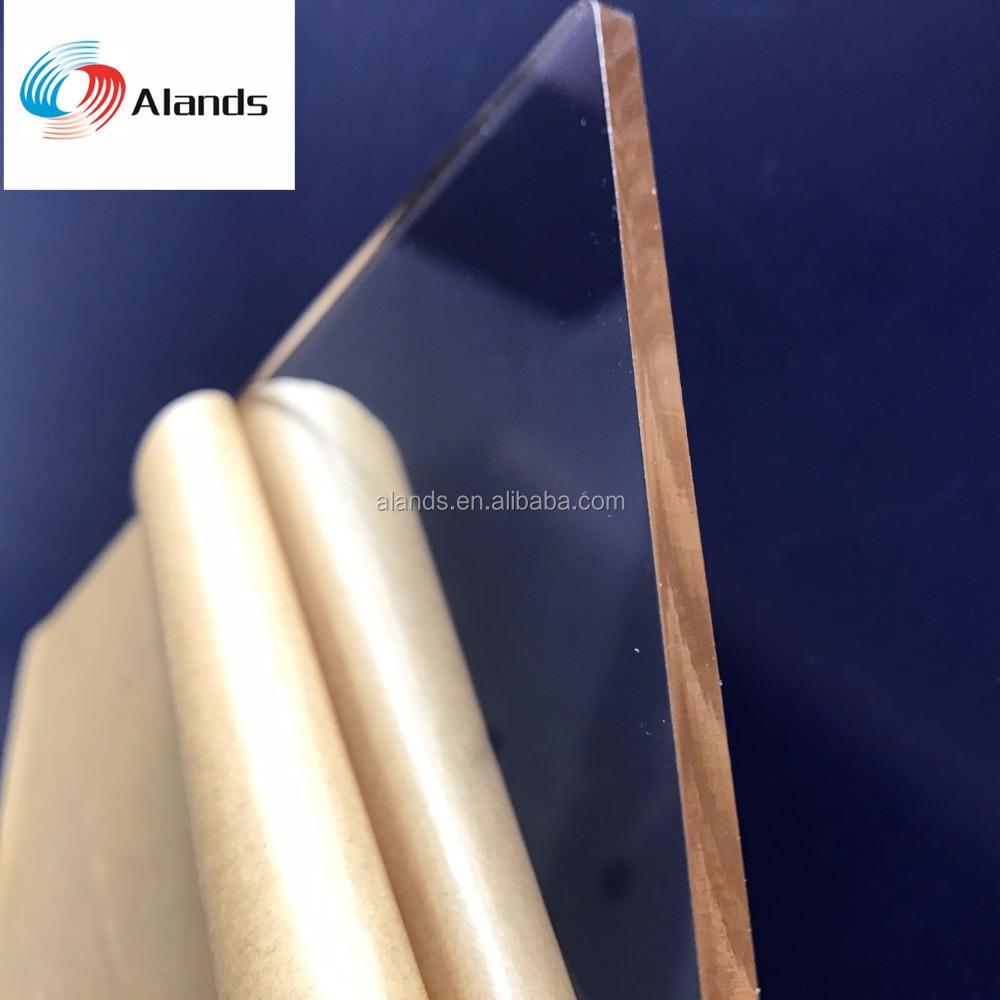 """Clear Acrylic Plexiglass Sheet 12/"""" x 12/"""" x 1//16/"""" 1.5mm Plastic Perspex"""