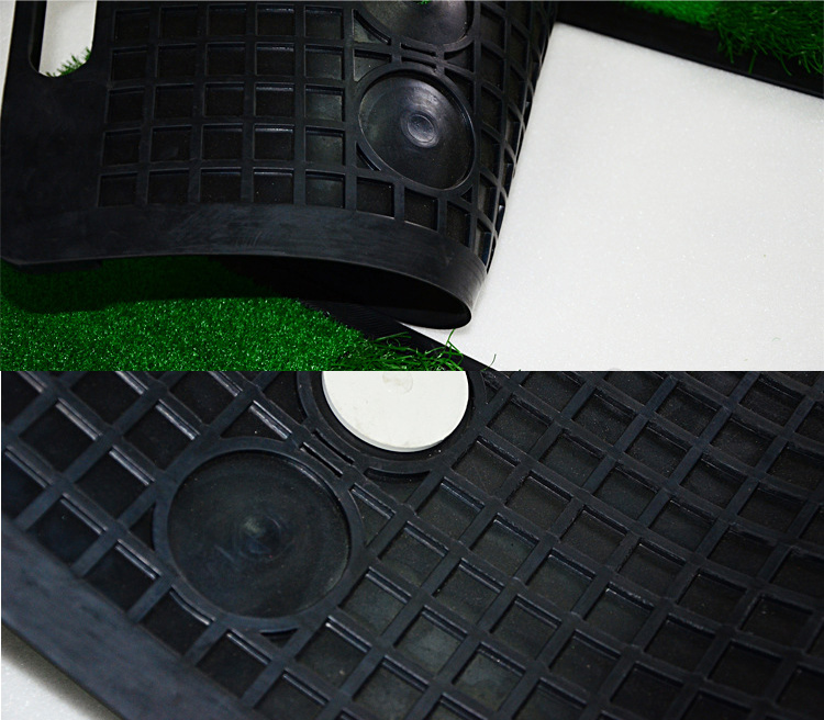 portable Golf Hitting mat Chipping and Driving Golf Training Swing Mat