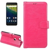 Factory Price Wallet Leather Case for Google Nexus 6P Case with Holder and Photo Frame