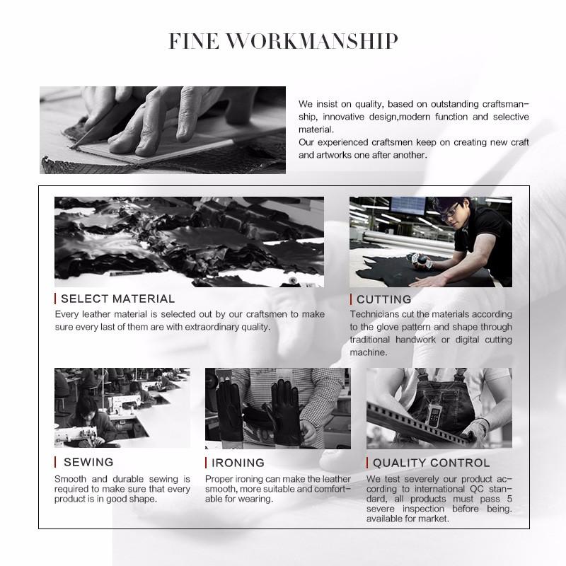 25f73a923f81 2019 GSG Famous Brand Women Long Leather Gloves Fashion Sheepskin ...