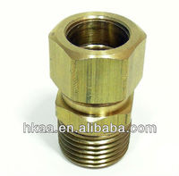 china high quality cnc bronze threaded pipe fitting supplier