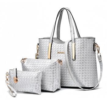 5a0479996d63 8865 Set Bag Fashion Bags 3 Pcs One Set Women Crossbody Clutch Handbags Pu  Leather Tote Purse - Buy 8865 Set Bag