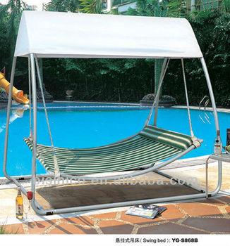 Wundervoll Im Freien Schaukel Bett Mit Baldachin/freizeit Luxus Schöne Bed B490534  Garten Hängematte Schaukel