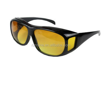 3860e5762b62 HD Night Vision Sunglasses for Driving Day Night Glasses Over Wrap Around  Glasses for Men and