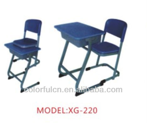 Vintage School Furniture With Chair/Desk(XG-220)