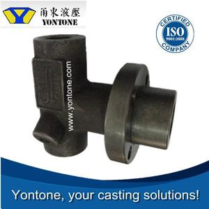 Yontone Easy Communication ISO Qualified Mill Accurate Q295-Q295A Q295B T6 cast steel sand casting anvil block