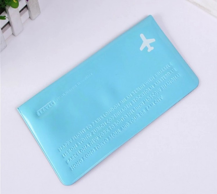 Oempromo customized colorful pvc ticket holder