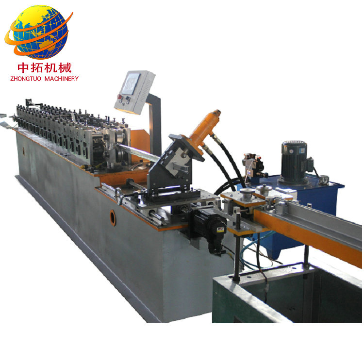 Hot selling cold rolled galvanized steel t-bar making machine with high effciency