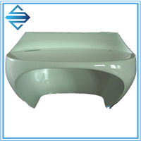 Hand lay up custom fiberglass Cover for Machine