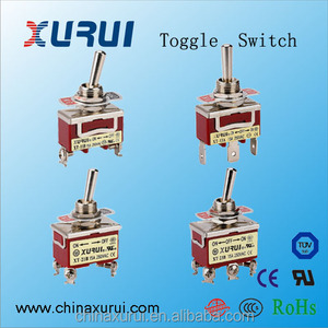 UL TUV approved 15a / 25a 250vac aircraft toggle switch ( 1021 / 1122 /  1221 / 1322 )