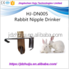 Nipple Drinker on Sale Poultry Water Nipple Drinker for rabbits HJ-DN005