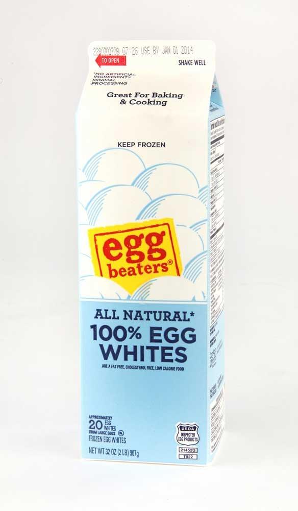 Conagra Egg Beaters Frozen Egg White, 2 Pound -- 12 per case.