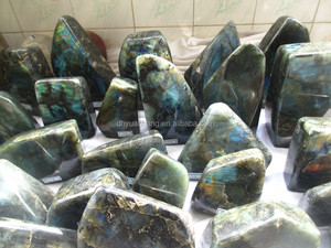 Natural lumpish labradorite quartz/stones mineral specimen for wholesale